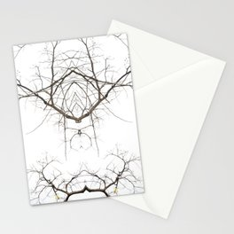 Mirrored Trees 1 Stationery Cards