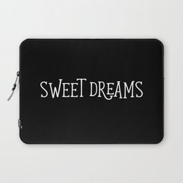 Sweet Dreams - Black and White Laptop Sleeve