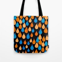 baloon Tote Bags featuring Baloon 2 by kartalpaf