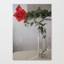 Martini Rose Canvas Print