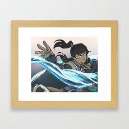 Element: Water Framed Art Print