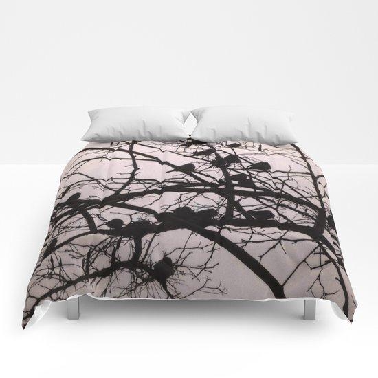 Birds Silhouettes Comforters