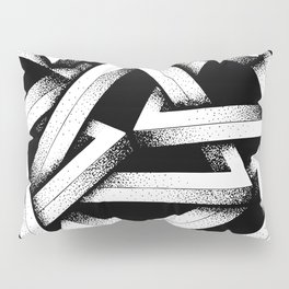 Impossible Penrose Triangles Pillow Sham