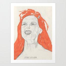 Viv Art Print
