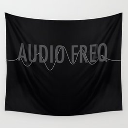 Audio Freq Wall Tapestry