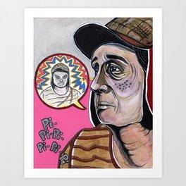 Santo Sueño: El Chavo Del Ocho  Art Print