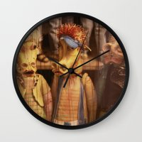 mother of dragons Wall Clocks featuring DRAGONS by Logram
