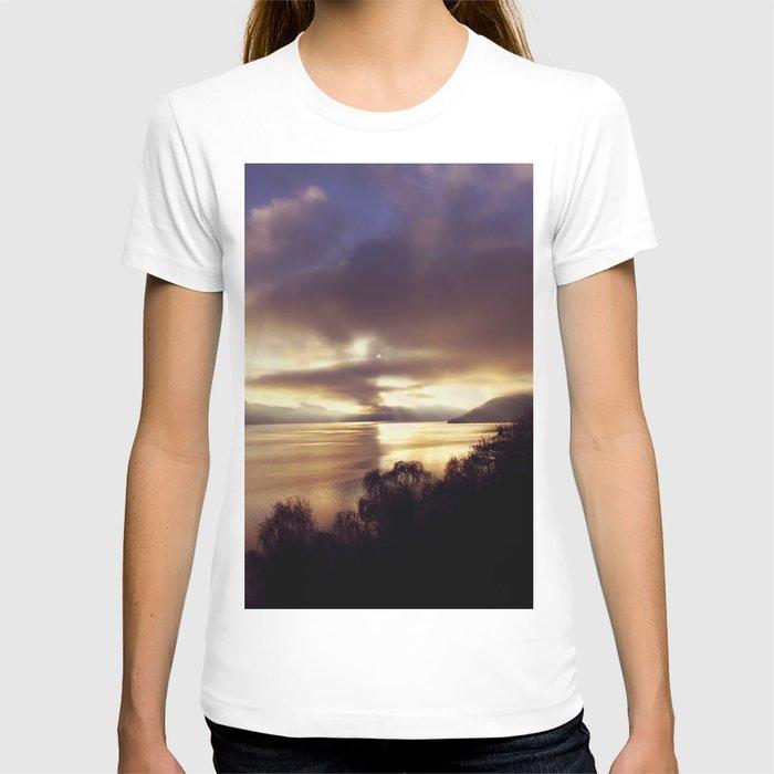 Loch Ness Sunset T-shirt