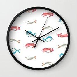 las mojarras Wall Clock