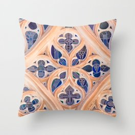 vitral Throw Pillow