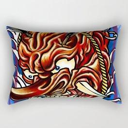 The Oni Rectangular Pillow