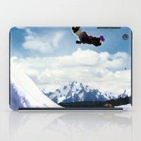 ski iPad Cases featuring ski Mountain by Colton