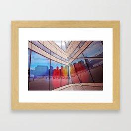 City Reflections Framed Art Print