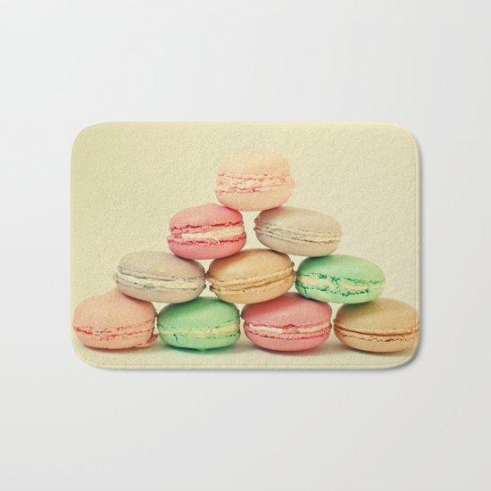 French Macarons Bath Mat