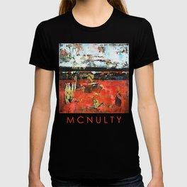 Jacksonville Orange Abstract Painting T-shirt