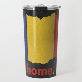 Romania Proud Travel Mug