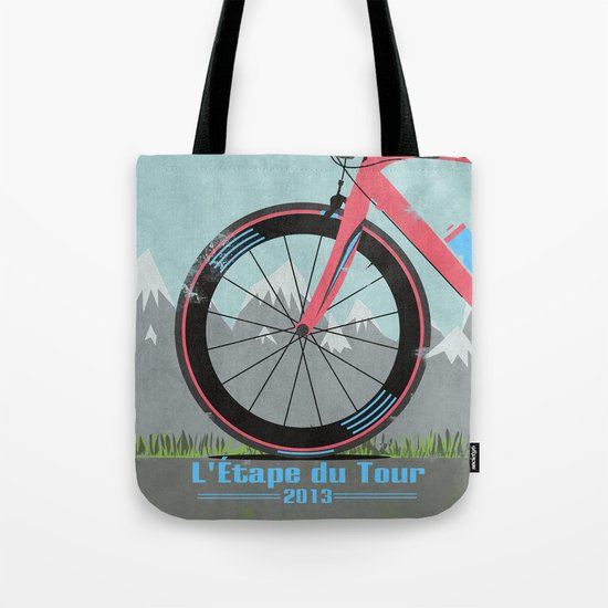 L'Etape du Tour Bike Tote Bag
