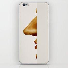 Peeking Around the Corner iPhone Skin