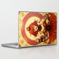 circus Laptop & iPad Skins featuring Circus by Lettie Bug