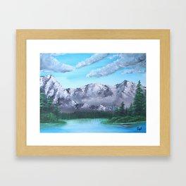 Carpathian Mountains Framed Art Print