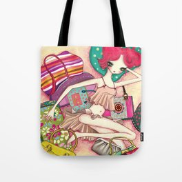 Bag-a-holic by Liselle Tote Bag