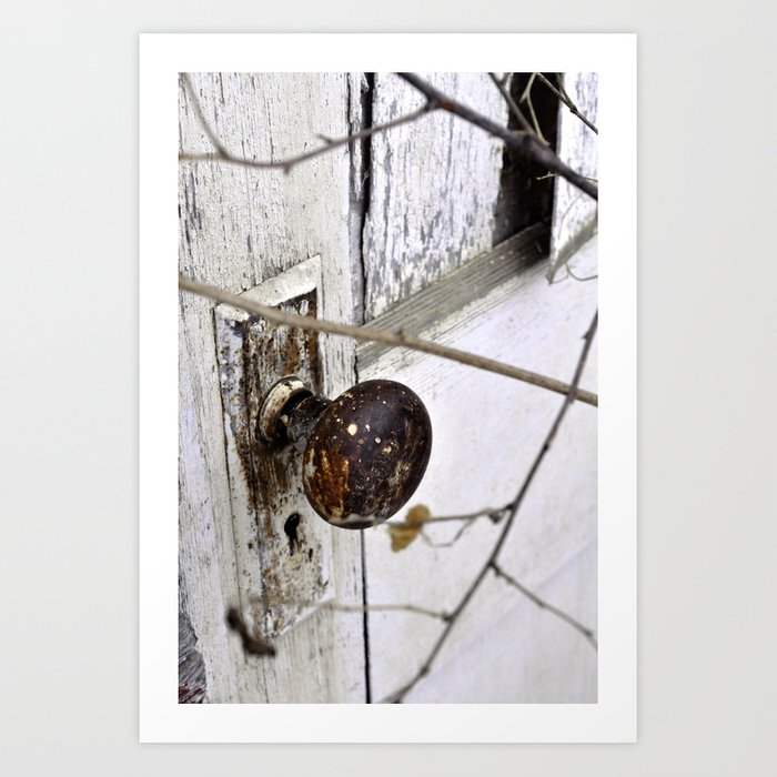 Hidden Door Art Print