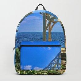 The Sea and the Gazebo Backpack