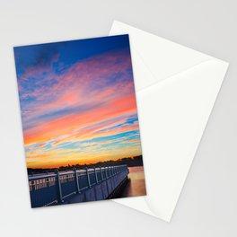 Wahoos Stadium Sunset II Stationery Cards