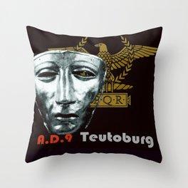 Teutoburg Forest Battleground Artifacts Throw Pillow