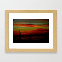 Port of Portland - Australia Framed Art Print