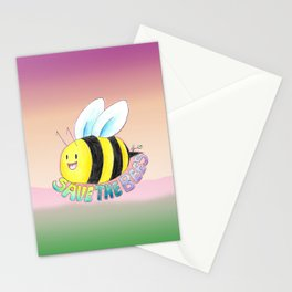 Save the Bees! Stationery Cards