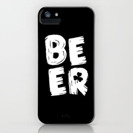 Beer Party Outfit iPhone Case