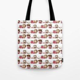 The Breakfast Brigade Tote Bag