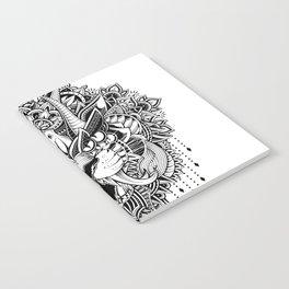 Tiger Mandala Notebook