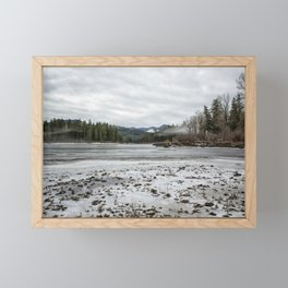 Fish Lake Emerging No. 2 Framed Mini Art Print
