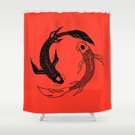 Balance is Key Shower Curtain