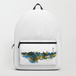 Berlin watercolor skyline Backpack
