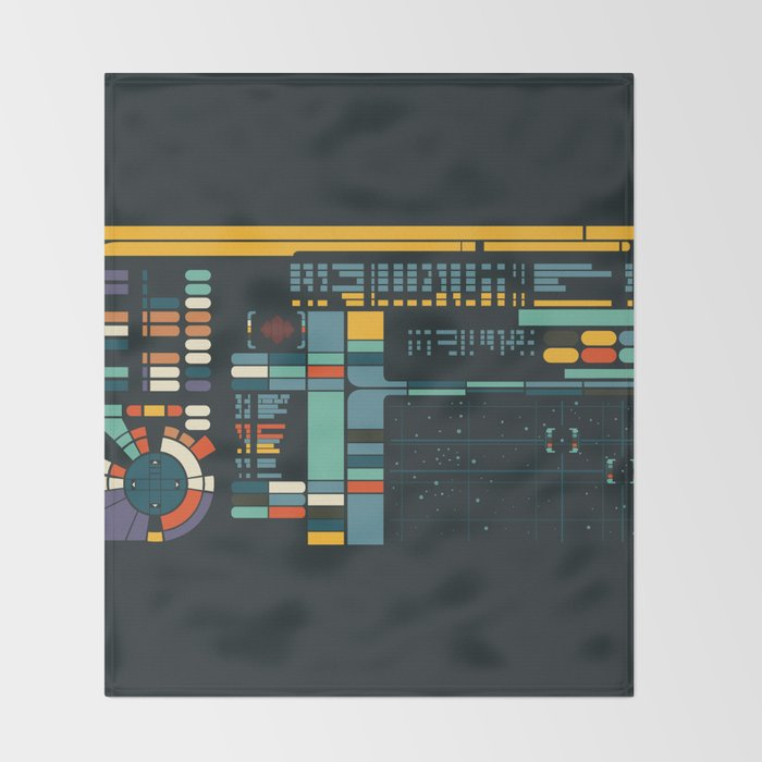Control Interface Throw Blanket