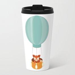 Flying fox- Animal Watercolor Illustration Travel Mug