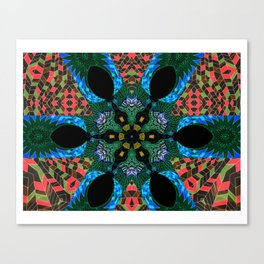 Speaking in Leaves - Cycles, 034 Canvas Print