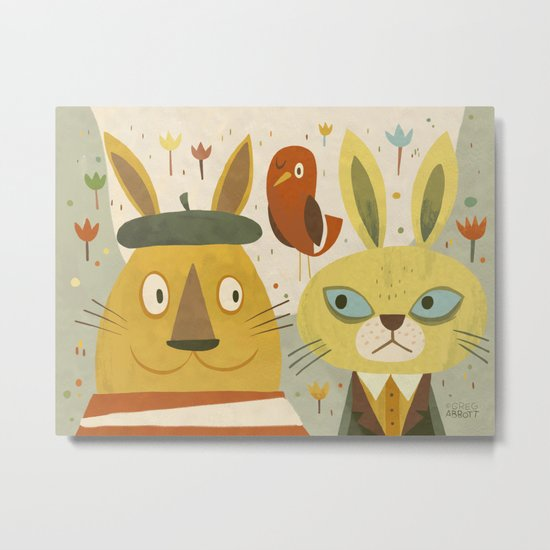 Frederic, Percy and Maxwell Metal Print