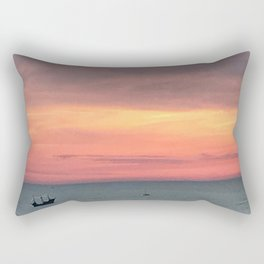 Sunset Treasure Rectangular Pillow