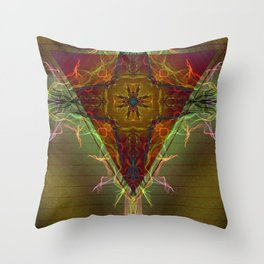 Inversed Pyramid Throw Pillow