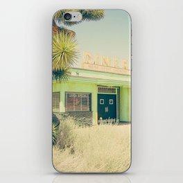Deserted Desert Diner iPhone Skin