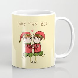 Love Thy Elf Coffee Mug