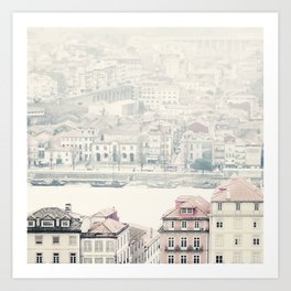 city dreams Art Print