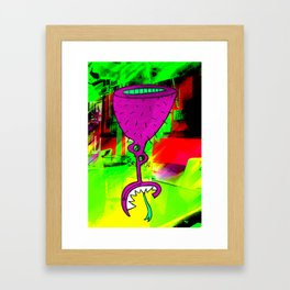 Pc's Collectibles 7 Framed Art Print