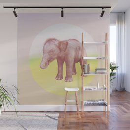 Save the Elephant - Endangered Species 1 Wall Mural