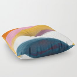 Let Go - no.36 Shapes and Layers Floor Pillow