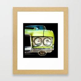 Green Machine! (Right Side Version) Framed Art Print